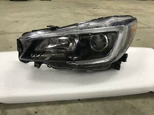 Subaru Outback Legacy 2018 2019 Left Driver Halogen Headlight remanufactured OEM