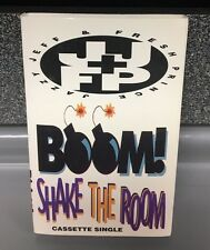Boom Shake the Room | Jazzy Jeff & Fresh Prince | Cassette | SHIPS First CLASS