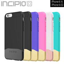 "Incipio® iPhone 6S 6 Case 4.7"" Edge Chrome Shockproof Slim Hybrid Rubber Cover"
