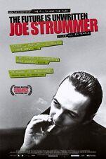 JOE STRUMMER: THE FUTURE IS UNWRITTEN Movie POSTER 27x40 Bono Steve Buscemi