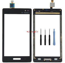 Top Front Touch Screen Digitizer Glass & Frame for LG Optimus L9 P769 T-Mobile