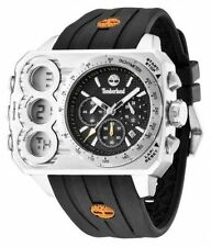 MENS BRAND NEW TIMBERLAND HT3 CHRONOGRAPH WATCH  TBL.13673JS/02S rrp £199