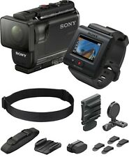 NEW Sony Action Cam HDR-AS50R HD Video Camera & Live View Remote & Head Mount