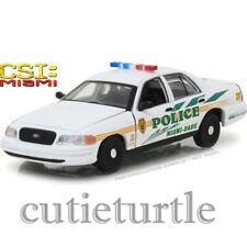 Greenlight CSI Miami Dade 2003 Ford Crown Victoria Police Interceptor 1:43 86508
