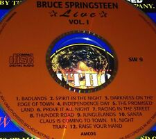Bruce Springsteen Live Vol. 1 CD Super Rare Santa Claus Is Coming To Town