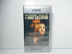 BONE COLLECTOR DVHS HD D-VHS Movie D Theater HIGH DEFINITION NEW VHS RARE Denzel