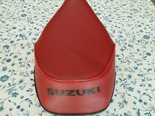 SUZUKI FA50 1980 TO 1991 SEAT COVER DARK RED   BEST QUALITY  (S18)