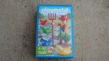 Playmobil 7540 farmer game brand new gift German toy geobra minidiorama