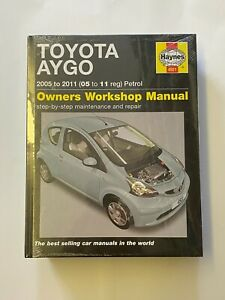 Haynes 4921 Manual for Toyota Aygo Petrol 2005-2011