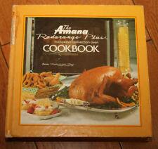 The Amana Radarange Plus Microwave Convection Oven Cookbook 1980 Vintage HC
