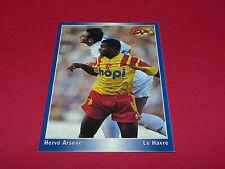 HERVE ARSENE LE HAVRE AC HAC DESCHASEAUX LENS PANINI FOOTBALL CARD 1994-1995