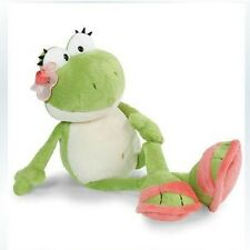 Cute green flower frog soft toy for baby dolls plush toy 35 cm stuffed animals