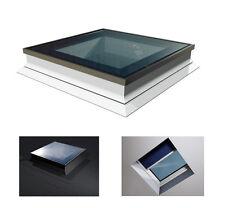 Flachdach Fenster PVC Lichtkuppel 90x120cm Festelement Uw=1,1W/m²K OKPOL PGX A1