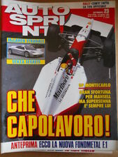 AUTOSPRINT n°23 1992 Mc Laren stradale senza segreti - Ayrton Senna   [P63]