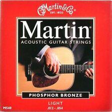 Martin M540 Phosphor Bronze Muta Corde per chitarra Acustica scalatura 12-54 Lig