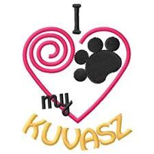 "I ""Heart"" My Kuvasz Ladies Fleece Jacket 1440-2 Size S - Xxl"