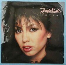 JENNIFER RUSH ~ MOVIN' ~ 1986 UK 10-TRACK LP RECORD ~ CBS 26710