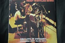 """Keef Hartley Band BBC Live In Concert 1970 - 1971 12"""" vinyl LP New + Sealed"""
