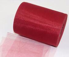 10 Meter 15cm 0,30€/m Tüll Tischband Band Schleifenband Dekoband Farbwahl Gewebe