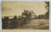 Port Deposit MD Director's Residence Tome School to North Ave Balto  Postcard O8