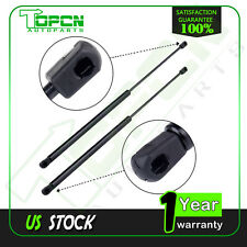 2 Rear Window Glass Lift Supports Struts With Hardtop For Jeep Wrangler 1997- 06
