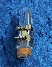 Acryl - Mundstück für Böhm - Klarinette inkl. Blattschraube