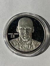Michael Jordan Hardcourt Heroes 1 OZ Silver Coin /1541