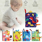 Soft Baby Animal Cloth Book Early Educational Newborn Crib Toys for Kids Infants