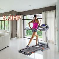 Bluetooth Electric Motorized 3.0hp Treadmill Folding Running Gym Fitness Machine