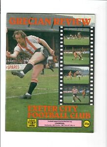 Exeter City v Liverpool (League Cup, 2nd Round, 2nd Leg) - 28/10/1981