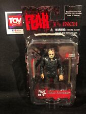 "Mezco Cinema of Fear 3 3/4 inch 3.75"" Jason Voorhees Friday the 13th figure"