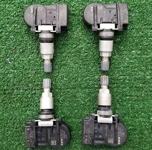 Set Genuine Original Factory OEM BMW X5 X6 Mini Wheel Tire Pressure Sensors TPMS