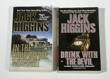 Jack Higgins~Lot of 2~In the Hour Before Midnight & Drink with the Devil~PB