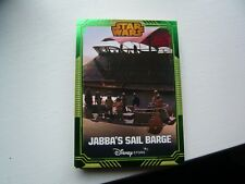 Star Wars Disney Store Exclusive Limited Edition Collectors Card Jabba's Sail