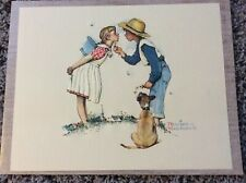 Vintage Norman Rockwell Beguiling Buttercup .Promotion from Nabisco 8x10