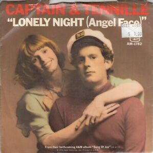 Captain & Tennille Lonely Night (Angel Face) (PS) 45-rpm Record EX