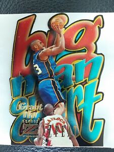 Grant Hill 1996-97 Skybox Z Force Big Men on Court Z Peat