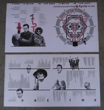Elvis Costello - Punch The Clock LP Sleeve Printers Proofs Barney Bubbles