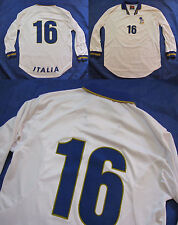 ITALIA #16 EURO 1996 away LONG SLEEVE shirt NIKE (Roberto Di Matteo) men SIZE XL