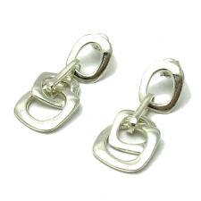 ARGENT STERLING PENDANT Boucles d'oreilles Solide 925 e000567 Impératrice