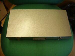 Good Vintage METAL 35mm Photographic Slide Box Case