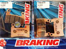 PER HONDA CBR RR 954 2003 03 PASTIGLIE ANTERIORE SINTERIZZATE FRENO BRAKING CM55