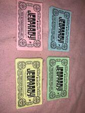 Jeopardy Board Game Pressman 1986 Money