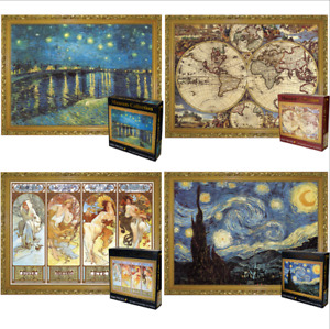 3000PCS Cardboard Puzzle Jigsaw Scenery Christmas Special Discount Gifts decor