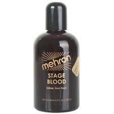 Mehron Stage Blood 133ml Vampire Dracula Special Effects Horror Dark Venous