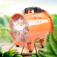 Explosion Proof 10 Axial Fan Cylinder Pipe Spray Booth Paint Exhaust Fan 250w