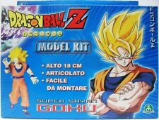 Dragon Ball Z GOKU SS model kit articolato facile da montare alto 18 cm.