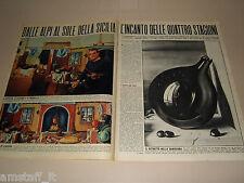 GREGORIO SCILTIAN pittore clipping ritaglio articolo foto fotografia 1965
