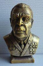 Russian Soviet USSR LEONID BREZHNEV bust statue H=16 cm