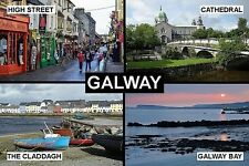 SOUVENIR FRIDGE MAGNET of GALWAY IRELAND